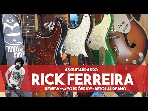 Barramusic TV | As Relíquias De Rick Ferreira | Suas Guitarras E Histórias