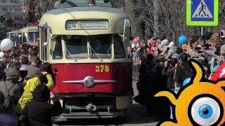 История: трамвай Татра Т-2 SU(Первые Т-2 были изготовлены в Чехословакии в 1955 году. Любопытно, что уже тогда в вагонах были предусмотрены..., 2014-04-20T14:26:11.000Z)