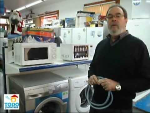 Quitar la cal de la lavadora videoconsejo youtube - Quitar la cal del agua ...