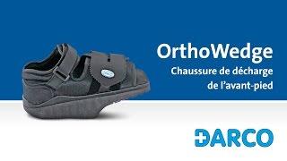 OrthoWedge - Chaussure de décharge pour le pied antérieur après une opération