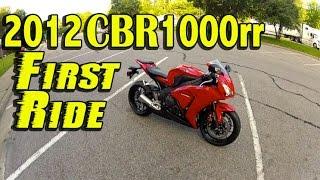 Honda CBR1000RR 2012 Videos