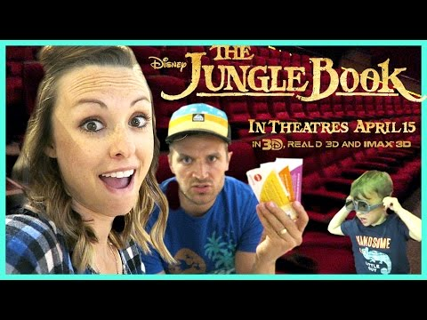 Premiere Jungle Book Showing for Sam and Nia!?!