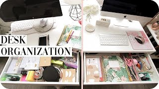 Office Organization: Desk Declutter!