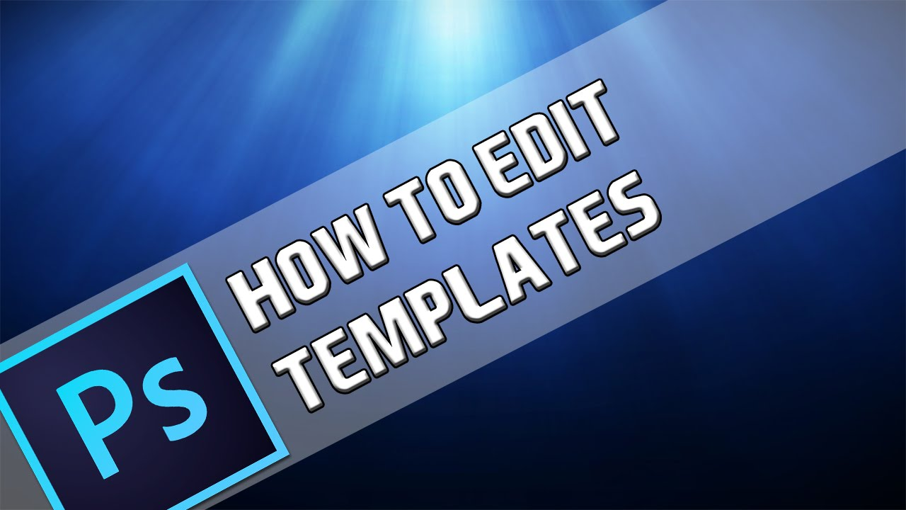how to edit a template