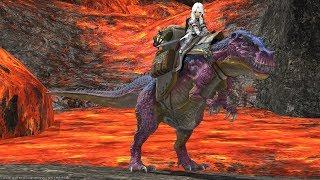 FFXIV: Eureka Dev Blog! Dinosaur Mount!