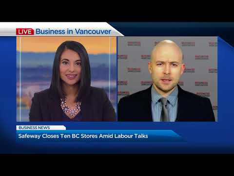 BIV On Global January 24: 2018: Ten Safeway B.C. Safeway Stores Face Closure