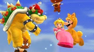 Super Mario 3D Land - Final Castle with Luigi