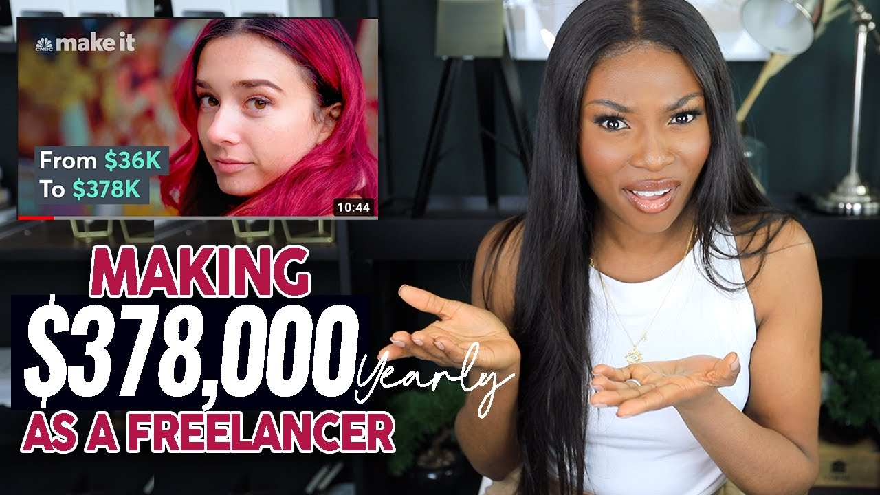 Reacting to Making $378K a YEAR on FIVERR! This can not be real!!
