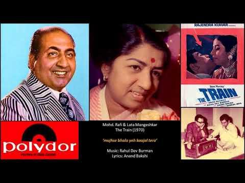 Mohd. Rafi & Lata Mangeshkar - The Train(1970) - 'mujhse bhala yeh kaajal tera'