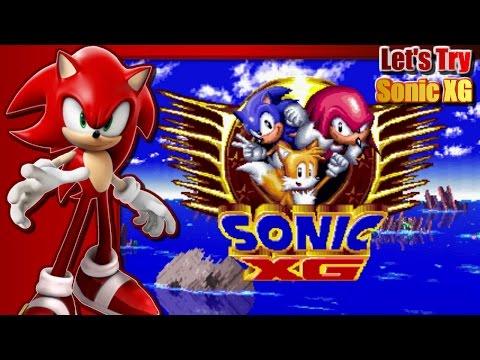 Let's Try Sonic XG