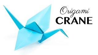 Easy Origami Crane Tutorial - Tsuru - Paper Kawaii