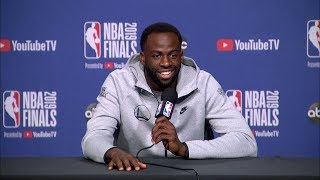 Draymond Green Full Interview - Game 1 Preview | 2019 NBA Finals Media Availability