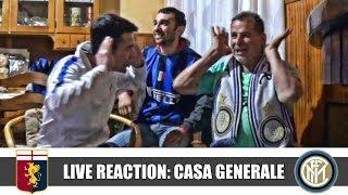 IL RITORNO DI RICCARDO!! Live Reaction Genoa-Inter 0-4 da Casa Generale