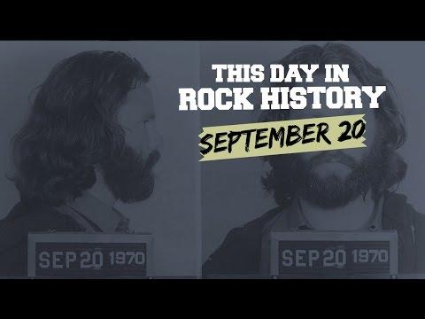 Jim Morrison Arrested, Ozzy Osbourne Starts Over - September 20 in Rock History