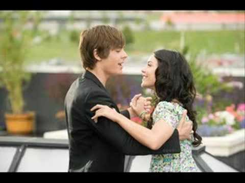 "SING ALONG - ""Can I have this dance?"" - Troy and Gabriella ..."