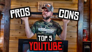 Being On Youtube - Pros & Cons