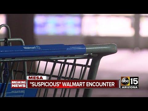 Stranger Approaches Mesa Toddler In Shopping Cart At Walmart