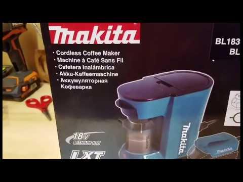 makita kaffeemaschine dcm500z test ich mache einen kaffee funnydog tv. Black Bedroom Furniture Sets. Home Design Ideas