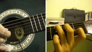 Repeat youtube video Alipin - Shamrock Guitar Tutorial (Intro)