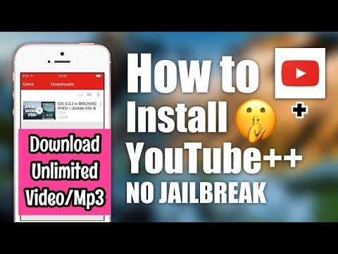 How To Download install YouTube ++ On iPhone Without jaillbreak | Hindi