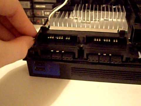 Playstation 2 PS2 Modchip Install By Jse Part Of Reasembly And Testing