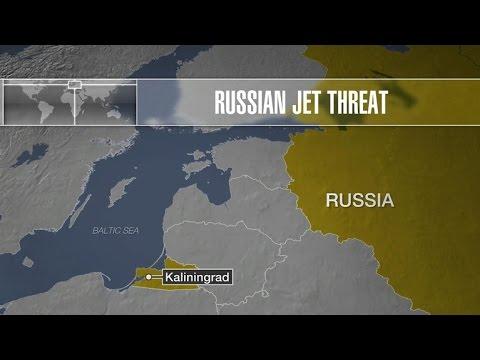 Russian jet intercepts U.S. spy plane over Baltic Sea
