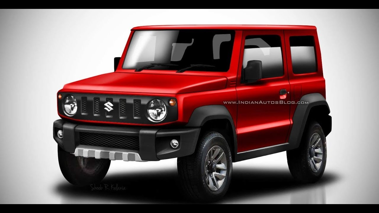 2018 suzuki jimny suv launch details specifications doovi. Black Bedroom Furniture Sets. Home Design Ideas