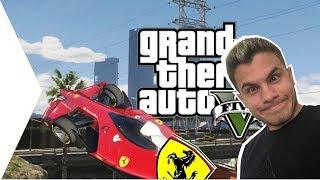 GTA V-BEN FERRARI F1 CONCEPT! :D