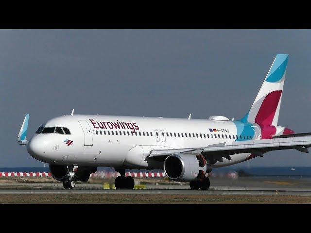 Eurowings Airbus A320-214 - Alicante