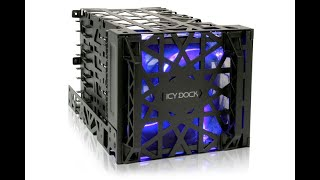 icy dock black vortex mb074sp b 4 x 3 5 hdd cooler cage introduction