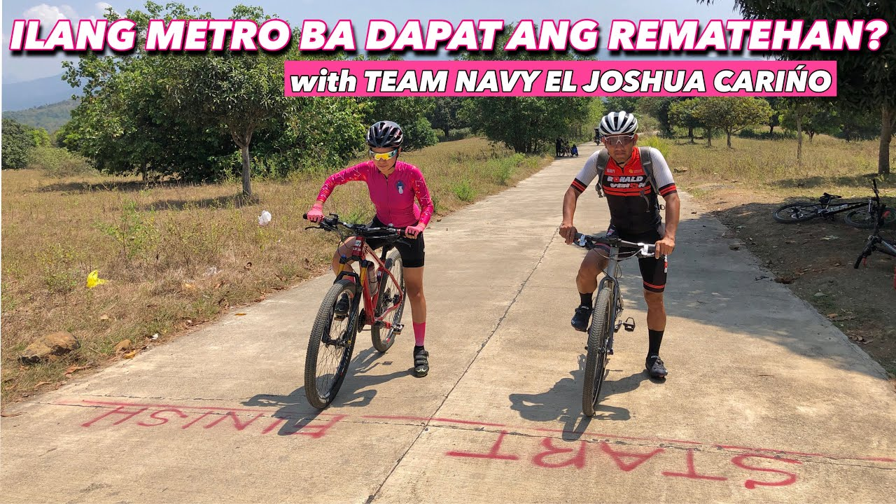 MENTORING AND TRAIL DAY with TEAM NAVY EL JOSHUA CARIÑO | veteran's move | by GAYE PARIS