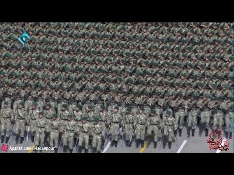 I.R Iran army massive military parade 2017- رژه ارتش ج.ا ایران