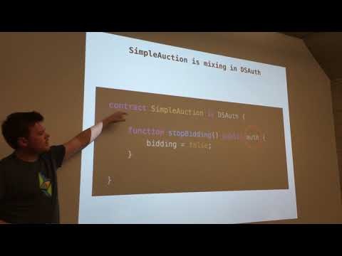 "EthDenver 4-5-18 Dev Track: smart contract authorization- dApphub's ""Guard Pattern"""