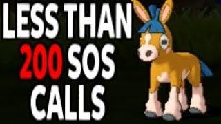 Shiny Mudbray in less than 200 SOS calls!! Pokemon Sun and Moon LIVE Shiny Reaction!