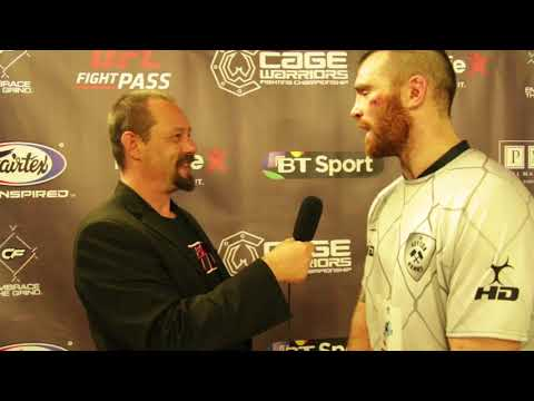 Post-Fight Interview with Mick Stanton at Cage Warriors 88