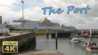The Port of Le Havre, Normandy - France 4K Travel Channel