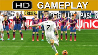 PES 2015 Gameplay - Barcelona vs Real Madrid [1080p HD PS4] - DEMO