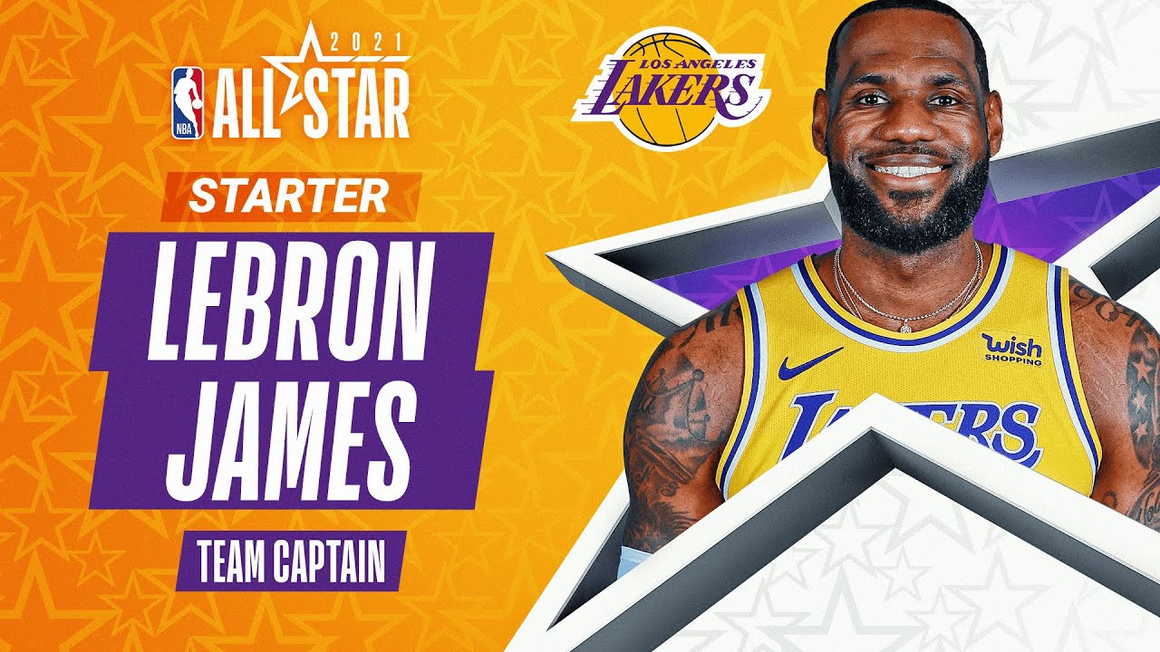LeBron James 2021 All-Star Captain | 2020-21 NBA Season