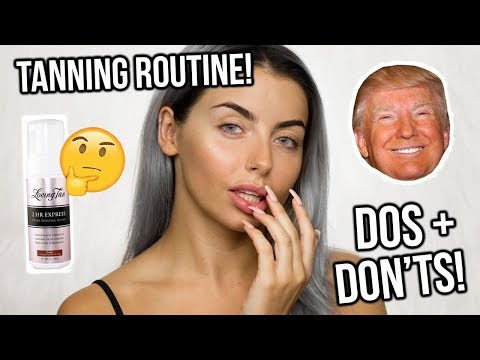 MY FAKE TANNING ROUTINE! HOW TO GET THE PERFECT TAN / TIPS + TRICKS
