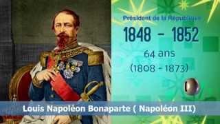 LES 24 PRESIDENTS DE LA REPUBLIQUE FRANCAISE  HD
