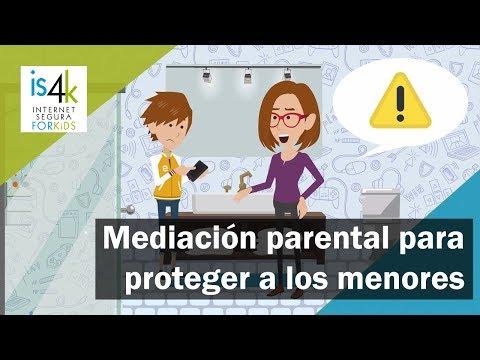 Mediación parental para proteger a los menores en Internet - IS4K