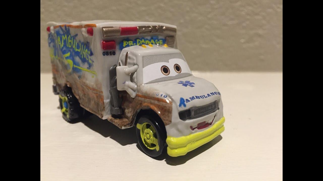 Mattel pixar cars 3 dr damage die cast youtube - Watch cars 3 online free dailymotion ...