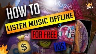 Best Free Music App For Iphone/IOS!📱(Offline Music) 2019⚡️
