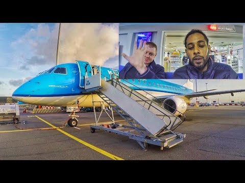 KLM Embraer E175 Humberside To Amsterdam Featuring Paul A.k.a. Paul's Trip Report