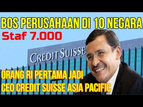 ORANG BATAK PERTAMA JADI CEO DI BANK TERKEMUKA DI DUNIA | CEO Credit Suisse Asia Helman Sitohang