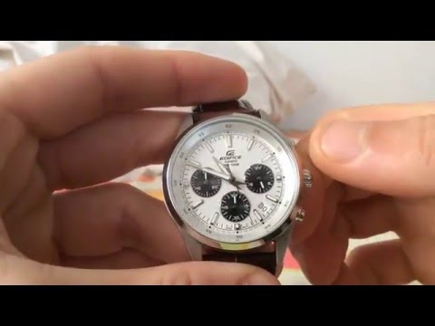 How to set date correctly - Casio Edifice thumbnail