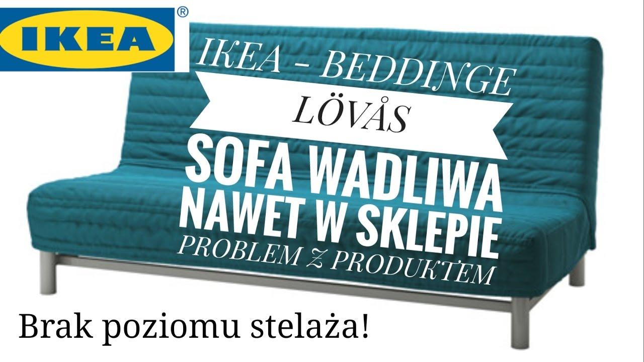 Ikea Sprzedaje Wadliwy Produkt Sofa Beddinge Zgłoszenie Problemu