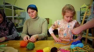 Живые ремесла. От 12 сентября. Плетение пояса на руках, изготовление декоративной салфетки из шерсти