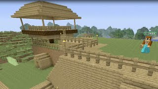 Building Stampy's House [19] - Chicken Coop And Farm