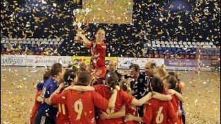 Победа женской сборной России на турнире 9 мая в 2013 году